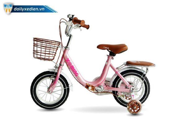 xe dap tre em nu xaming 12 inch 02 600x400 - Xe đạp trẻ em bé gái Xaming-12 inch
