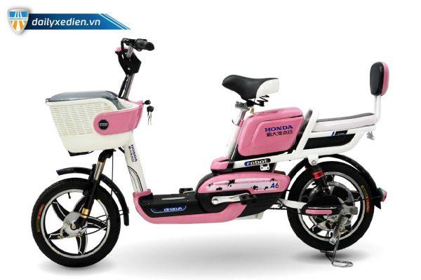 xe dap dien honda a6 new 05 02 600x400 - Xe đạp điện Honda A6 mẫu mới Robot