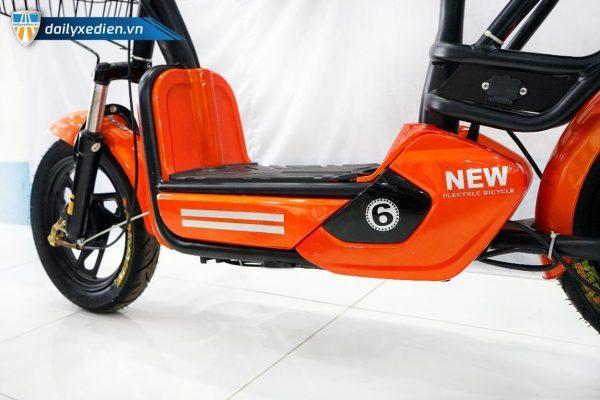 xe dap dien 6 mini new 11 600x400 - Xe đạp điện Mini New