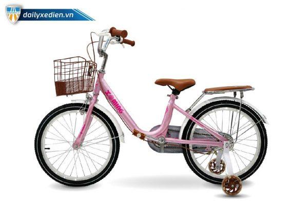 xe dap tre em nu Xaming 20 inch 02 600x400 - Xe đạp trẻ em Xaming - 20 inch