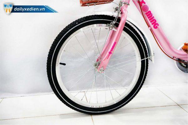 xe dap tre em nu Xaming 20 inch 03 600x400 - Xe đạp trẻ em Xaming - 20 inch