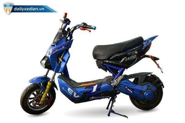 xe may dien x men xanh cu 02 600x400 - Xe máy điện X-Men xanh thanh lý