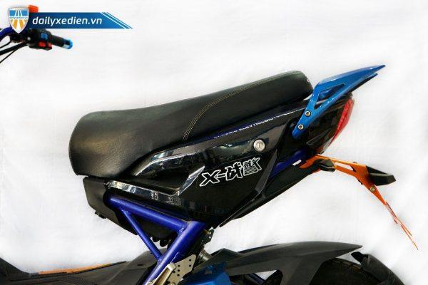 xe may dien x men xanh cu 06 600x400 - Xe máy điện X-Men xanh thanh lý