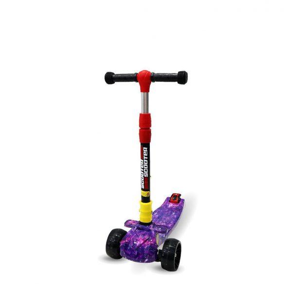 xe scooter 02 2 600x600 - Xe trẻ em Scooter mẫu mới có đèn & nhạc