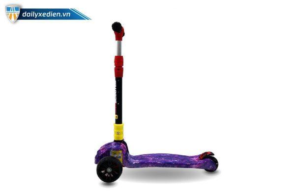 xe scooter 03 1 600x400 - Xe trẻ em Scooter mẫu mới có đèn & nhạc