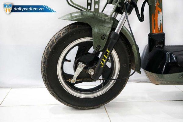 xe dap dien jili xanh cu ct 03 600x400 - Xe đạp điện Jili cũ - Xanh quân đội