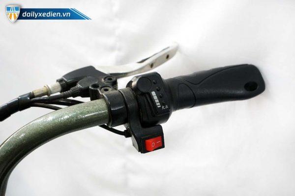 xe dap dien jili xanh cu ct 12 600x400 - Xe đạp điện Jili cũ - Xanh quân đội