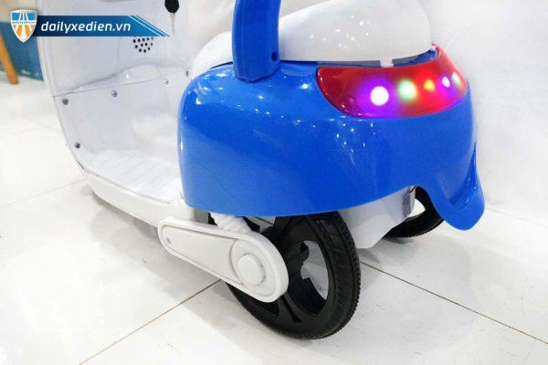xe moto dien hello kitty xanh k 1550 08 600x400 - Xe Moto điện Hello Kitty