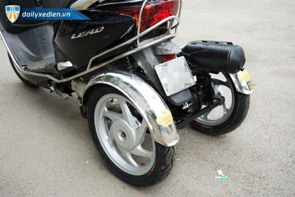 xe ba banh tu che Lead ct 10 600x400 - Xe 3 bánh Lead tự chế có số tiến lùi