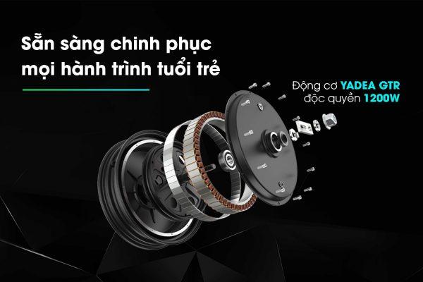 Dong co 2 min 600x400 - Yadea X5